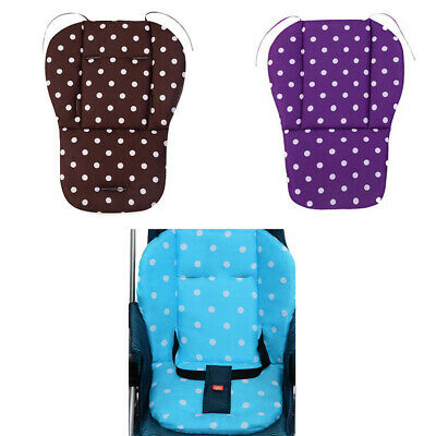 Baby Stroller Cushion Carriage Dining Chair Cotton Safety Seat Back Pad Cushions