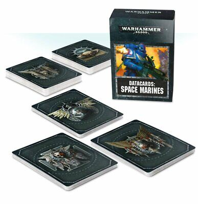 Warhammer 40K Space Marines Datacards 2019       PRE ORDER IS ALL WE DO