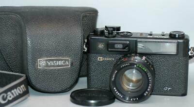 Yashica Electro 35 GT Rangefinder camera with 45mm f1.7 lens - Tested Ex++!