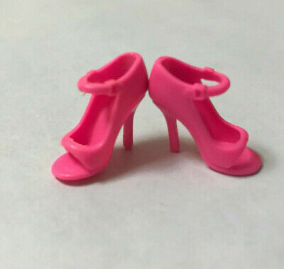 """40 Pairs Pink High Heel Shoes Boots For 11.5"""" Doll / Toy Girl Gifts C27"""