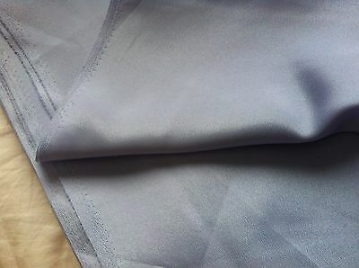 Pale Lilac Polyester Satin Fabric