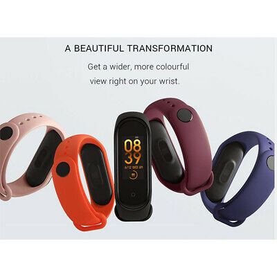 Neu M4 Bluetooth 5.0 Intelligente Uhr Amoled Sport Armband Xiaomi Mi Band Belt 4