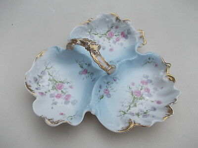 § Antique big french porcelain centre piece - very nice hand painted
