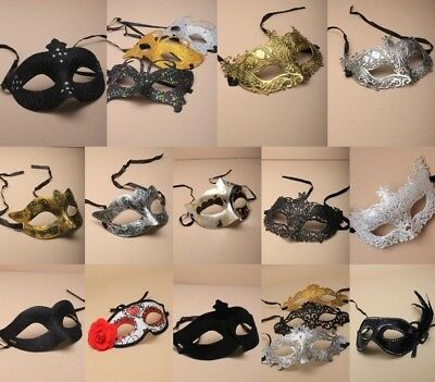 Masquerade Mask Single PartY Ball Fancy Dress CostumeHen Stag Theatre Halloween