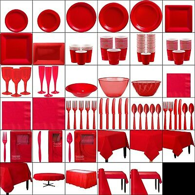 Red Party Table Wear Christmas Fiesta Beach, BBQ, Birthday Wholesale