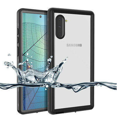 For Samsung Galaxy Note 10 Plus S10 Waterproof 360° Shockproof Clear Case Cover