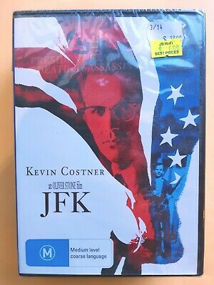 JFK [ Region 4 DVD ] NEW & SEALED, Free Next Day Post from NSW