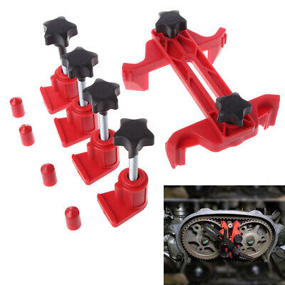 Red Maintenance Cam Timing Locking  Car Engine  Camshaft Lock Holder  Auto