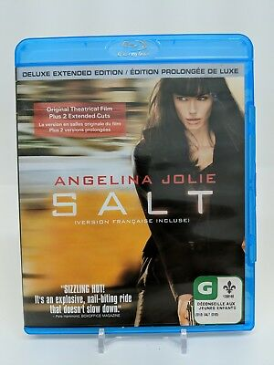 Salt Blu-ray Disc Unrated Deluxe Edition Bilingual Bluray