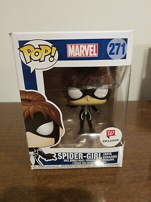 FUNKO POP! Marvel SPIDER-GIRL Anya Corazon 271 Walgreens Exclusive DAMAGED BOX