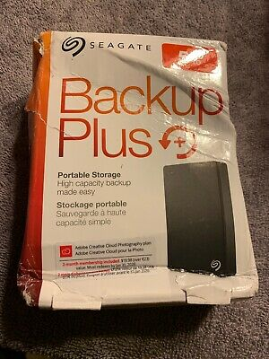 Seagate Backup Plus 5TB STDR5000100 USB 3.0 Portable External Hard Drive HDD