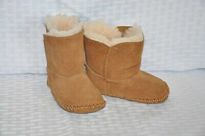a20e064b9a5 UGGS BABY TODDLER Size 2 / 3 Caden Bootie Shoes Boots Chestnut Brown ...