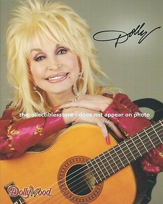 Dolly Parton Dollywood Country Music Singer Autographed Replica 8 X 10 Photo #2