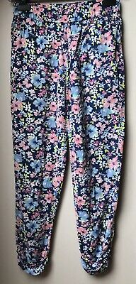 next summer floral trousers age 11