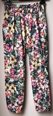 zara kids summer trousers age 9-10