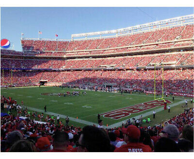 San Francisco 49ers vs Rams Tickets 12/22/19 -Santa Clara Sec 131 w/ parking