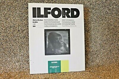 ILFORD MULTIGRADE IV FB FIBER PAPER 70 sheets 8 x 10 Matte