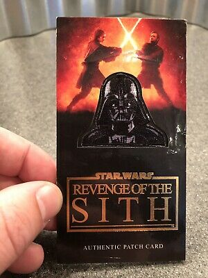 Topps Darth Vader Star Wars 2015 Revenge of the Sith Widevision Patch Card /60
