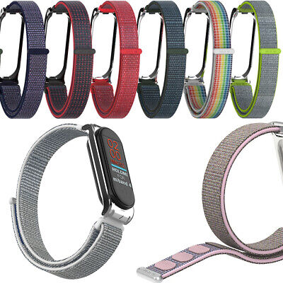 Fiber Band Replacement Wristband Wrist Strap Breathable For Xiaomi Mi Band 4 3