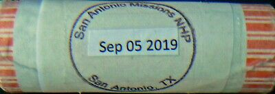 2019 1 D + 1 P Quarter Roll Texas San Antonio Missions National Park Extras