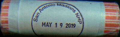2019 20 D + 20 P Quarters Roll Texas San Antonio Missions National Park Extras