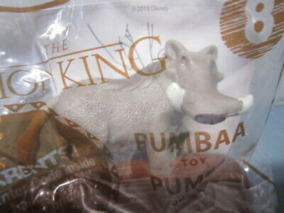 """New Mcdonalds Happy Meal Toy 2019 Disney's """"The Lion King"""", #8 Pumbaa"""