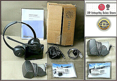 FULLY TESTED w/o BOX Plantronics CS520 Headset + HL10 Lifter + Extension Arm