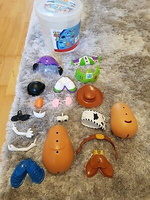 Toy Story 3 Mr Potato Head Bucket Buzz Lightyear Woody Disney Pixar