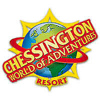 2 tickets to Chessington world of adventure Wednesday 4th September e-tickets