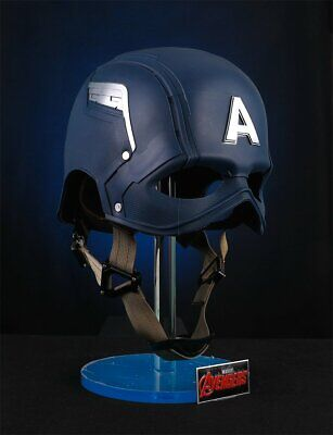 1/1 Cattoys Mask Helmet & Stand Set For Captain America Cosplay Veteran  VER.NEW