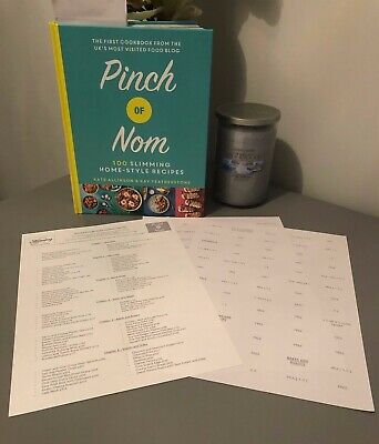 💕Slimming World Friendly Syn Stickers for PINCH of NOM Recipe Book2019 💕