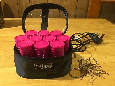 TRESemme 3039U Salon Professional Volume Heated Rollers Nice Condition