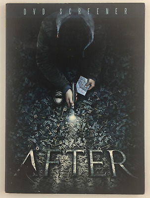 After (DVD, 2012) *SCREENER* Seabourne Pictures RYAN SMITH HORROR SCIFI FANTASY
