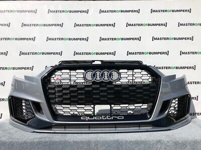 Audi Rs3 Saloon Cabrio Only 2016-2019 Front Bumper Fully Complete Genuine [A47]