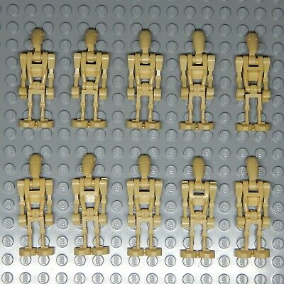 Lego Star Wars Battle Droid Minifigures Lot of 10