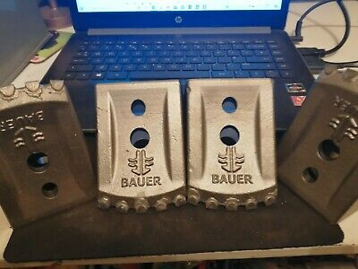 3 x V Replacement  Teeth for Auger / Core Barrel / piling