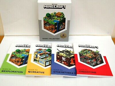 MINECRAFT THE SURVIVAL Collection 4 Books Set Exploration