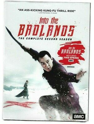 Sealed NEW DVD - TV Series - INTO THE BADLANDS -  Season 2