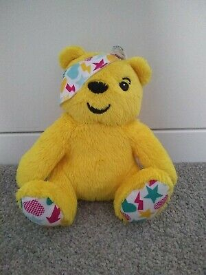 BBC Children In Need Yellow Pudsey Teddy Bear Small Soft Toy Excellent condition