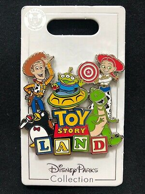 Disney Parks Pin Trading Toy Story Land