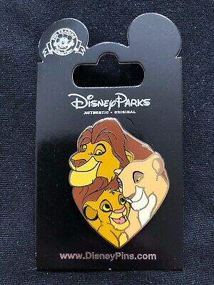 Disney Parks Pin Trading The Lion King Simba and Mufasa