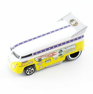 Don Prudhomme The Snake VW Drag Bus Yellow Hotwheels LOOSE 35 Year 2855 EA