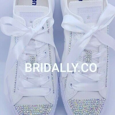 Custom Converse Bridal Shoes