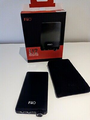 FIIO E12 Headphone Amplifier, portable, excellent battery