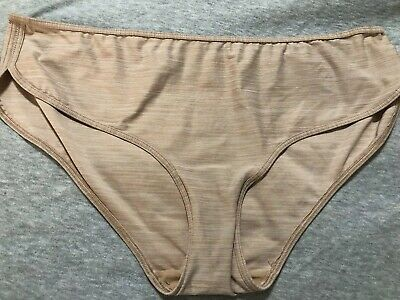 Vtg Nwot Victoria's Secret Second Skin Bikini Panties Size L