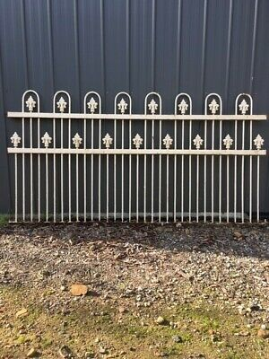 Victorian cast iron fencing