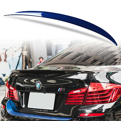 Painted Rear Boot ABS Spoiler For BMW 5-Series F10 Pe Style Imperial Blue A89