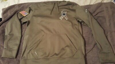 reputable site 8747c 14824 DALLAS COWBOYS NIKE Olive Salute to Service Sideline Therma ...