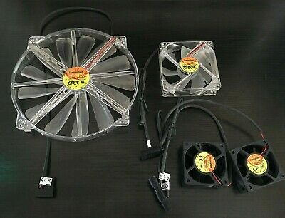 Used Working Thermaltake PC Fans