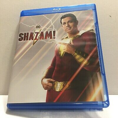 NEW DC Comics Shazam Blu-Ray Disc Only (No DVD & No Digital Download Included)